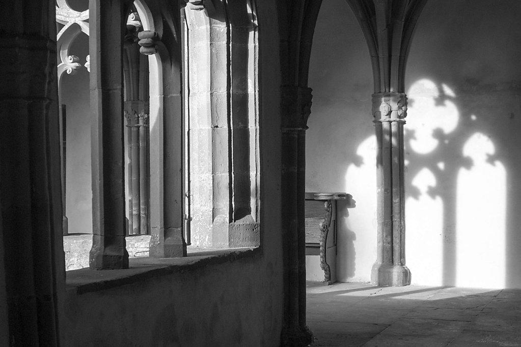 Kreuzgang der Stiftskirche, 09.08.2014