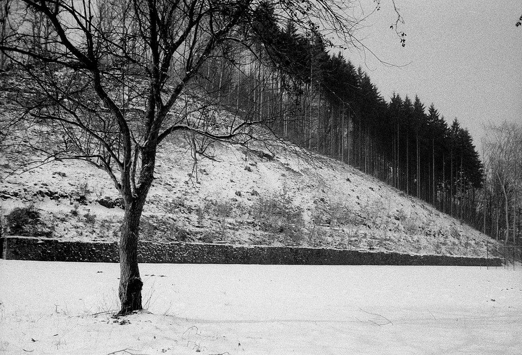 Ehemaliger Sportplatz, Nähe Schwimmbad, 14.02.1985
